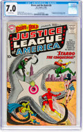 Silver Age (1956-1969):Superhero, The Brave and the Bold #28 Justice League of America (DC, 1960) CGCFN/VF 7.0 Off-white pages....