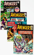 Silver Age (1956-1969):Superhero, The Avengers Group of 8 (Marvel, 1965-68) Condition: Average VF....(Total: 8 Items)