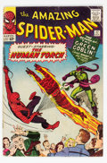 Silver Age (1956-1969):Superhero, The Amazing Spider-Man #17 (Marvel, 1964) Condition: GD/VG....
