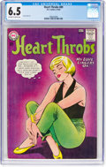 Silver Age (1956-1969):Romance, Heart Throbs #89 (DC, 1964) CGC FN+ 6.5 Off-white to whitepages....