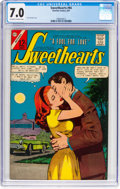 Silver Age (1956-1969):Romance, Sweethearts V2#94 (Charlton, 1967) CGC FN/VF 7.0 Off-white to whitepages....