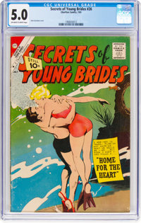 Secrets of Young Brides #26 (Charlton, 1961) CGC VG/FN 5.0 Off-white to white pages
