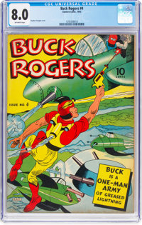 Buck Rogers #4 (Eastern Color, 1942) CGC VF 8.0 Off-white pages