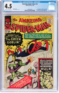 Silver Age (1956-1969):Superhero, The Amazing Spider-Man #14 (Marvel, 1964) CGC VG+ 4.5 Off-white towhite pages....