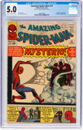 Silver Age (1956-1969):Superhero, The Amazing Spider-Man #13 (Marvel, 1964) CGC VG/FN 5.0 Cream tooff-white pages....