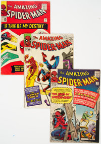 The Amazing Spider-Man Group of 6 (Marvel, 1964-66) Condition: Average VG.... (Total: 6 )