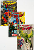 Silver Age (1956-1969):Superhero, The Amazing Spider-Man Group of 18 (Marvel, 1967-2003) Con...