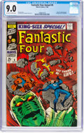 Silver Age (1956-1969):Superhero, Fantastic Four Annual #6 (Marvel, 1968) CGC VF/NM 9.0 Off-white towhite pages....