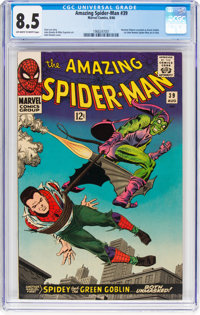 The Amazing Spider-Man #39 (Marvel, 1966) CGC VF+ 8.5 Off-white to white pages