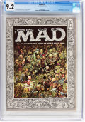 Magazines:Mad, MAD #27 (EC, 1956) CGC NM- 9.2 Off-white to white pages....