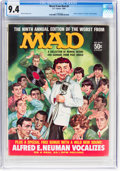 Magazines:Mad, Worst From Mad #9 (EC, 1966) CGC NM 9.4 Off-white to white pages....
