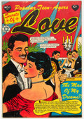 Golden Age (1938-1955):Romance, Popular Teen-Agers #17 (Star Publications, 1953) Condition: VG+....