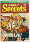 Golden Age (1938-1955):Romance, Diary Secrets #19 (St. John, 1953) Condition: VG/FN....