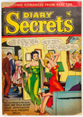 Golden Age (1938-1955):Romance, Diary Secrets #22 (St. John, 1954) Condition: GD....