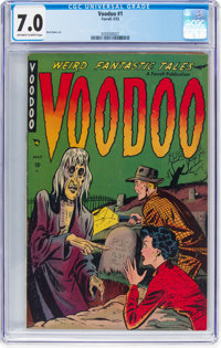 Voodoo #1 (Farrell, 1952) CGC FN/VF 7.0 Off-white to white pages