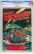 Golden Age (1938-1955):War, Don Winslow of the Navy #61 Crowley Copy Pedigree (FawcettPublications, 1948) CGC NM+ 9.6 Off-white to white pages....