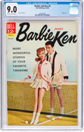 Silver Age (1956-1969):Romance, Barbie and Ken #4 (Dell, 1963) CGC VF/NM 9.0 Off-white to whitepages....