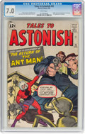 Silver Age (1956-1969):Superhero, Tales to Astonish #35 (Marvel, 1962) CGC FN/VF 7.0 White pages....