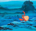 Animation Art:Production Cel, The Incredible Mr. Limpet Crusty the Crab Production Cel(Warner Brothers, 1964). .....