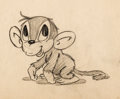 Animation Art:Concept Art, My Friend the Monkey Character Concept Drawing (Max Fleischer, 1939). ...