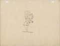 Animation Art:Production Drawing, Betty Boop for President Betty Boop Animation Drawing (MaxFleischer, 1932). ...