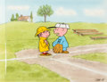 Animation Art:Production Cel, Peanuts - Charlie Brown's All Stars Charlie Brown andFriends Production Cel Setup on Production Background (Bill Mele...