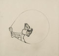 Animation Art:Production Drawing, Screwball Squirrel Animation Drawing (MGM, 1944). ...