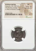 Ancients:Ancient Lots  , Ancients: ANCIENT LOTS. Roman Imperial. Ca. AD 198-217. Lot ofthree (3) AR denarii. NGC VF-Choice VF. ... (To...
