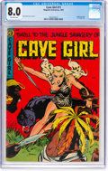 Golden Age (1938-1955):Miscellaneous, Cave Girl #11 (Magazine Enterprises, 1953) CGC VF 8.0 Off-white pages....