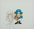 Animation Art:Production Cel, Cap'n Crunch Production Cel and Animation Drawing (Jay Ward Studios, 1960's). ...