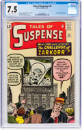 Silver Age (1956-1969):Mystery, Tales of Suspense #35 (Marvel, 1962) CGC VF- 7.5 Off-white to whitepages....