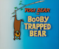 Animation Art:Limited Edition Cel, Booby Trapped Bear Yogi Bear Title Cel and ProductionDocument Group of 2 (Hanna-Barbera, 1960).... (Total: 2 Items)