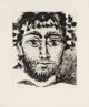 After Pablo Picasso Tête de Faune, 1958 Soft-ground etching and aquatint on japon nacre paper 11-7/8 x 9-7/8 inche...