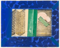 Howard Hodgkin (1932-2017) Nick, 1977 Etching with aquatint and handcoloring, on Chrisbrook hand-mad
