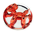 Fine Art - Sculpture, American:Contemporary (1950 to present), Jeff Koons (b. 1954). Balloon Dog (Red), 1995. Chrome glazedporcelain. 10-1/4 inches (26 cm) diameter. Ed. 520/2300. Nu...