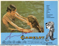 "Hollywood Memorabilia:Autographs and Signed Items, Richard Harris Signed Lobby Cards. Two lobby cards for the romanticmusical ""Camelot"" signed by actor Richard Harris. With..."
