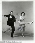 "Hollywood Memorabilia:Autographs and Signed Items, Gene Kelly and Debbie Reynolds Signed Photograph. ""Singin' in the Rain"" consistently ranks as one of -- if not the -- gr..."