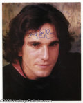 Hollywood Memorabilia:Autographs and Signed Items, Daniel Day-Lewis Signed Photograph. A talented actor from themethod school and often described as the British Robert De Nir...
