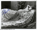 "Hollywood Memorabilia:Autographs and Signed Items, Myrna Loy Signed Photograph. Best remembered for her role of Nora Charles opposite William Powell in the ""Thin Man"" movies, ..."