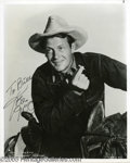 Hollywood Memorabilia:Autographs and Signed Items, Joel McCrea Signed Photograph Plus Many More! This lot features asigned photograph of legendary actor Joel McCrea as well a... (10Items)