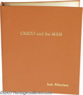 "Memorabilia:Miscellaneous, ""Chico and the Man"" Signed Script and Photograph. Soon after asuccessful appearance on ""The Tonight SHow with Johnny Carson... (2Items)"