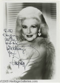 "Hollywood Memorabilia:Autographs and Signed Items, Ginger Rogers Signed Photograph Plus a Whole Lot More! Here is asigned 5"" x 7"" photo of the Academy Award-winning actress a... (8Items)"