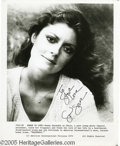 "Memorabilia:Miscellaneous, Susan Sarandon Autographed Photo. Here is a promotional photo fromthe 1976 drama ""Dragonfly"" signed by actress Susan Sarand..."