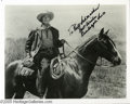Hollywood Memorabilia:Autographs and Signed Items, Randolph Scott Signed Photograph Plus Many Others. One of Hollywood's most popular western stars, Randolph Scott cut a strik... (12 Items)