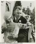 "Hollywood Memorabilia:Autographs and Signed Items, James Stewart Signed Photograph and Other Hollywood Greats. An 8"" x 10"" promotional photo from the 1959 movie ""The FBI Story... (4 Items)"