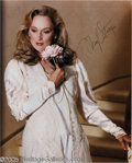 "Hollywood Memorabilia:Autographs and Signed Items, Meryl Streep Signed Photograph. A signed promotional still of the ""Sophie's Choice"" star, a woman considered by many moviego..."