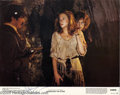 "Memorabilia:Miscellaneous, Kathleen Turner Signed Lobby Card. A promotional photo for themovie ""Romancing the Stone"" signed by Turner. With COA from..."