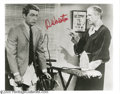 "Hollywood Memorabilia:Autographs and Signed Items, Ray Walston Signed Photograph. A 8"" x 10"" black-and-white photo ofWalston opposite Bill Bixby in the classic sitcom ""My Fav..."