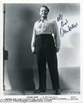 """Hollywood Memorabilia:Autographs and Signed Items, Orson Welles Signed Photograph. Orson Welles was only 25 when hewrote, directed, and starred in """"Citizen Kane,"""" the movie t..."""