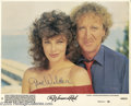 "Memorabilia:Miscellaneous, Gene Wilder Signed Lobby Card. This lot includes a promotionalphoto for the 1984 romantic comedy ""The Woman In Red"" signed ..."
